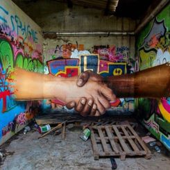 Graffiti is only sharing, de Jeaze