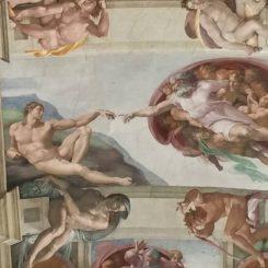 Capilla Sixtina de Miguel Ángel, en El Vaticano