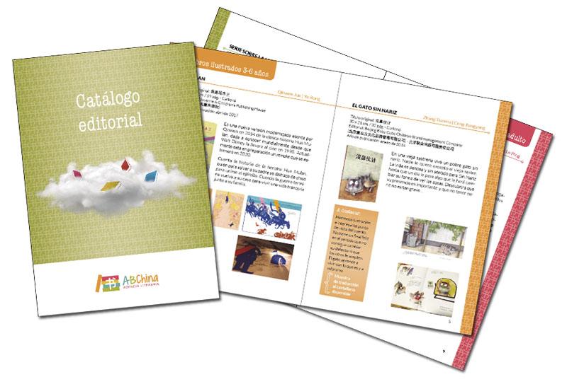 Diseño catálogo de libros