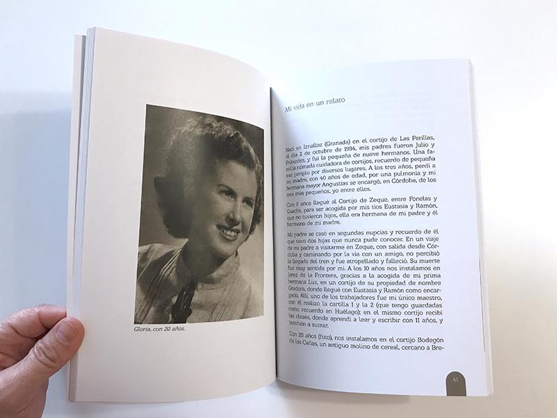 Versos de Gloria Vílchez